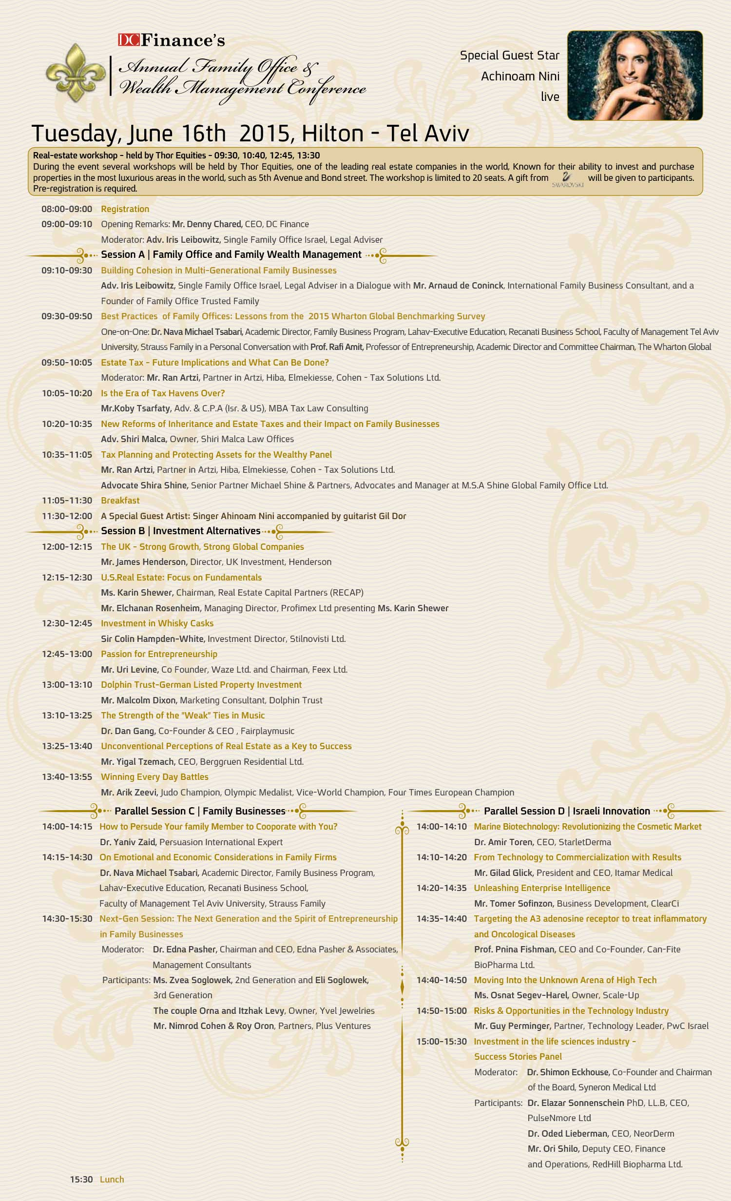 The 2015 Family Office & Wealth Management Conference